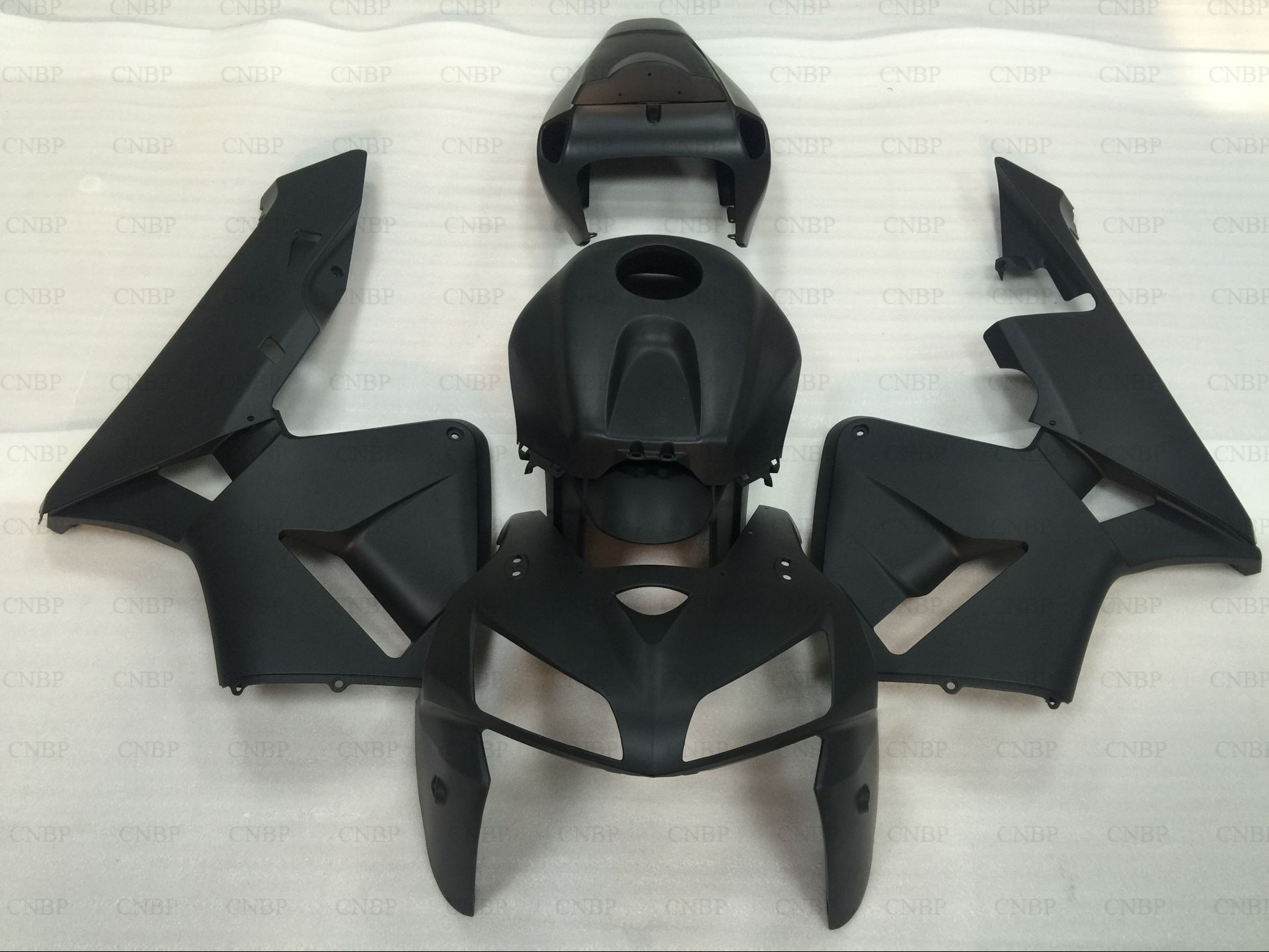 Fairings CBR 600 RR 06 Plastic Fairings for Honda CBR 600RR 2005 - 2006 Black Fairing Kits for Honda CBR600RR 05 full fairings for honda cbr cbr600rr f5 year 13 14 2013 2014 abs plastic motorcycle fairing kit bodywork cowling asia pata