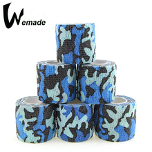 5cm*4.5m Self Adhesive Bandage Cohesive Sports Tape First Aid Camouflage Nonwoven Kit