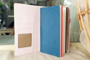 "Image 5 - ""Mermaid Traveler Notebook"" Shining Spangles Cover 일기 저널 교체 가능한 논문 Girls Stationery Gift"
