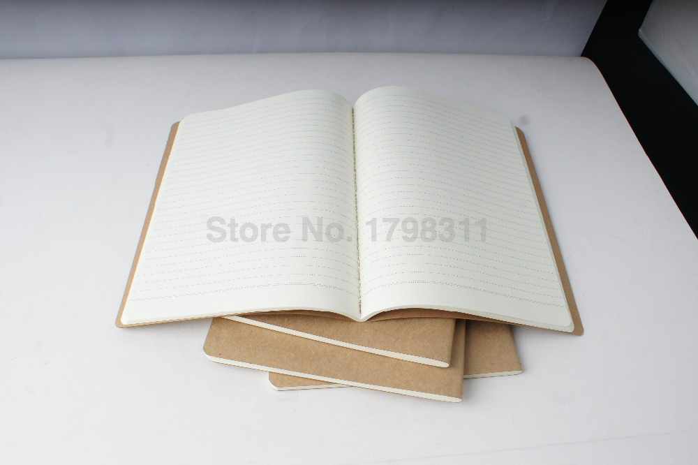Brown Kraft Paper Printing Notebook Thin Book Lined Page/Blank Page  Printing In Notebooks From Office U0026 School Supplies On Aliexpress.com |  Alibaba Group  Blank Lined Page