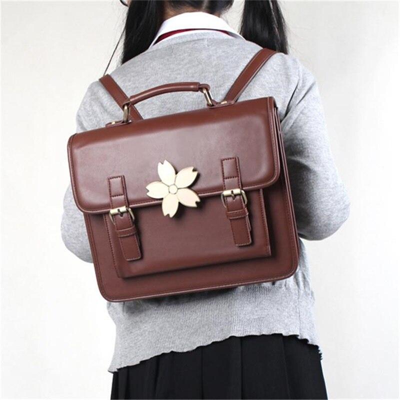 Sac à main Design Lolita Sakura style Preppy japonais sac à main uniforme JK sac à bandoulière Vintage sac à dos sac d'école de mode porte-documents