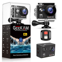 GEEKAM S9Rpro Action Camera Ultra HD 4K 30fps 16MP WiFi 2.0 Underwater Waterproof Helmet Video Recording Cameras Sport Cam