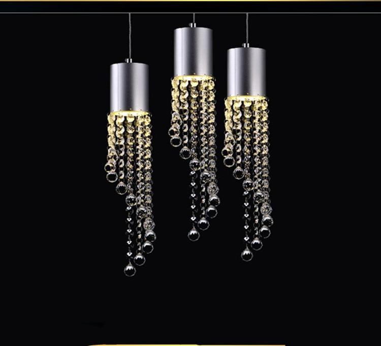 Led Cafe crystal light fixture 3 lights dining room pendant lights lustres de cristal indoor light kitchen Bar pendnat lamps щипцы для завивки волос vitek vitek vt 2384