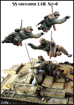 [tuskmodel] 1 35 scale resin model figures kit  E66 1