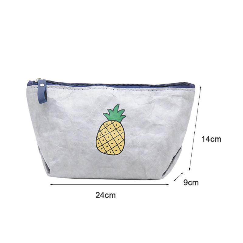 Cool Pineapple Deluxe Printing Small Purse Portable Receiving Bag