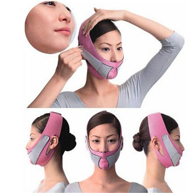 Приспособления для подтяжки овала лица тонкий Уход за кожей лица маска для похудения лица тонкий жевательной двойной подбородок кожа тонка...