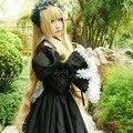 MCOSER Fashion Gosick Victorique De Blois 150cm Long Wavy Synthetic Blonde Anime Cosplay Wig