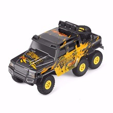 wltoys  18629 rc car 1:18 six-wheel drive climbing 2.4G remote control six-wheeled big-foot off-road vehicle Hummer toy