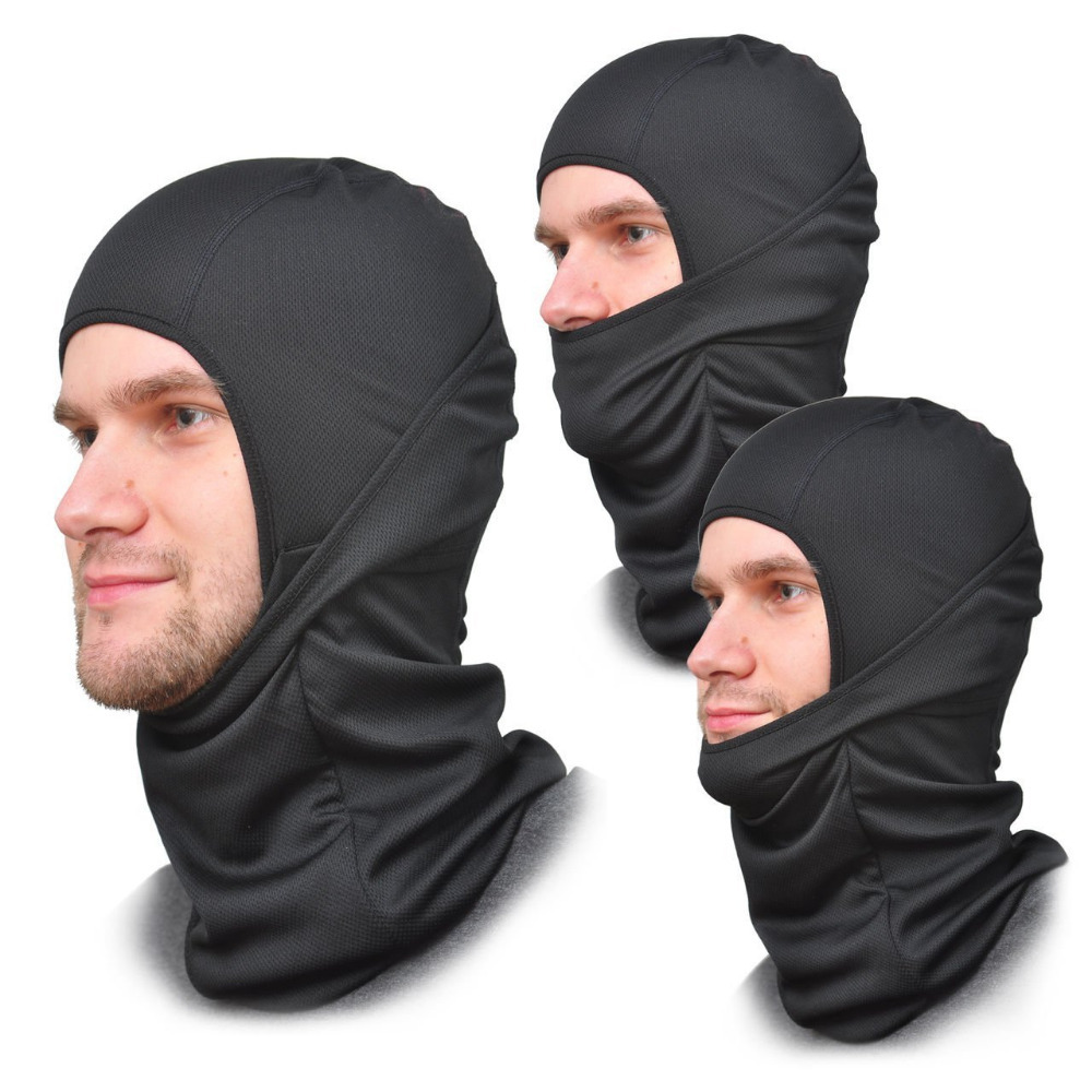 Balaclava Face Mask One Size Fits All Elastic Fabric For Men or Women  Summer or Winter Gear-in Cycling Face Mask from Sports   Entertainment on  ... 4abcdf12f5d