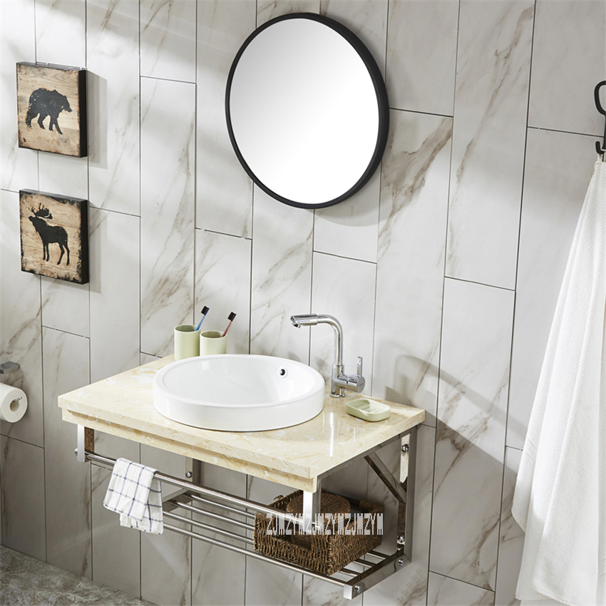 Tzp001 Wall Mounted Type Cabinet Toilet Vanity Combo Mirror
