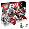 227pcs Bela 05020 New Star Wars Obi-Wan's Jedi Interceptor Assembling Building Blocks Gifts Compatible With Lego