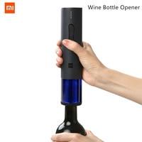 Original Xiaomi Mijia Huohou Automatic Wine Bottle Opener Kit Electric Corkscrew With Foil Cutter For xiaomi smart home kits