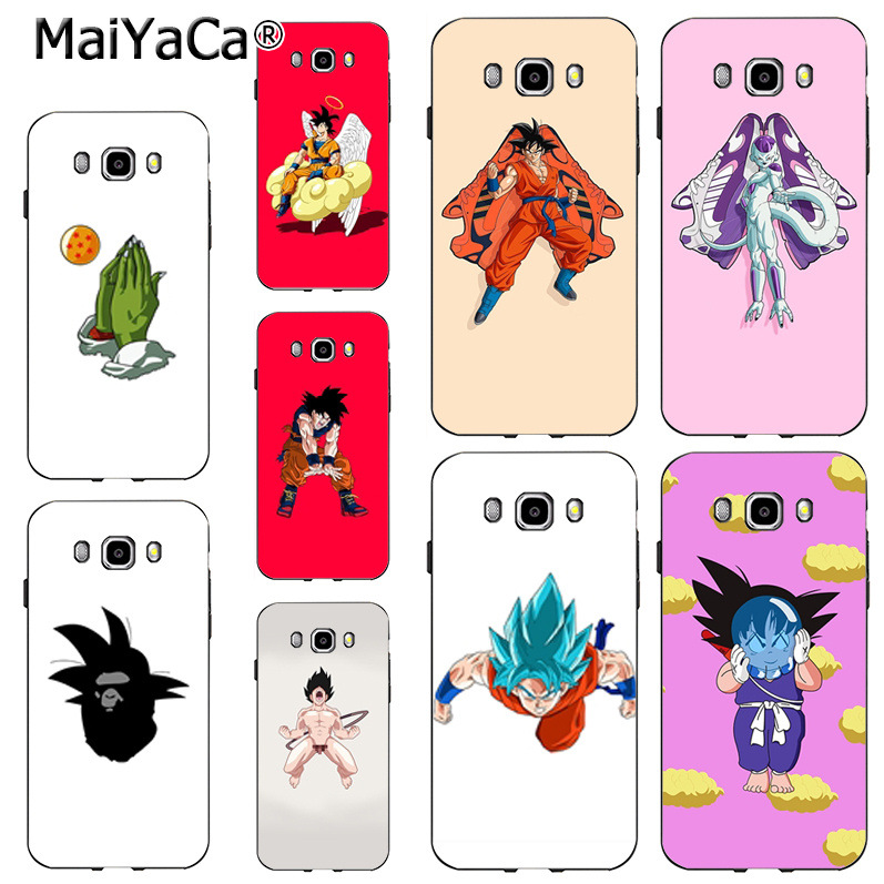 Competent Maiyaca Dragon Ball Art On Sale Luxury Cool Phone Accessories Case For Samsung J6 J7 Note8 Note9 S10 J4 Case Coque Half-wrapped Case