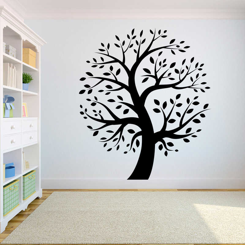 Tree Wall Decal Sticker Bedroom tree of life roots big tree ...