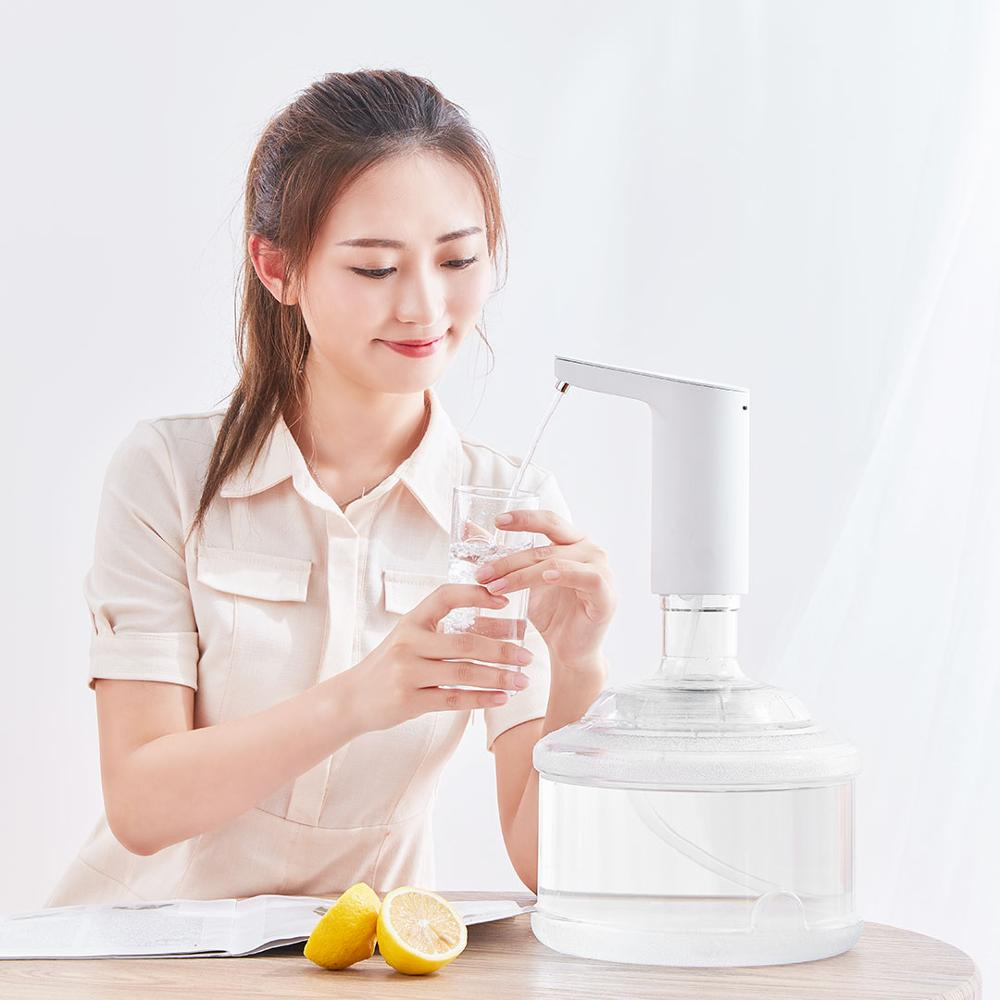 Image 4 - Newest Xiaomi XiaoLang Automatic Mini Touch Switch Water Pump Wireless Rechargeable Electric Dispenser Water Pump WithTDS Test-in Smart Remote Control from Consumer Electronics