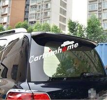 Plastic Black Spoiler Wing for Toyota Land Cruiser LC200 2008-2016
