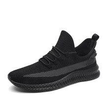 Mens Shoes Casual Sneakers Men Running Shoes Black Mesh Air Sneakers Men Shoes Spring New Lace Up Shoes Man Zapatos De Hombre цена в Москве и Питере