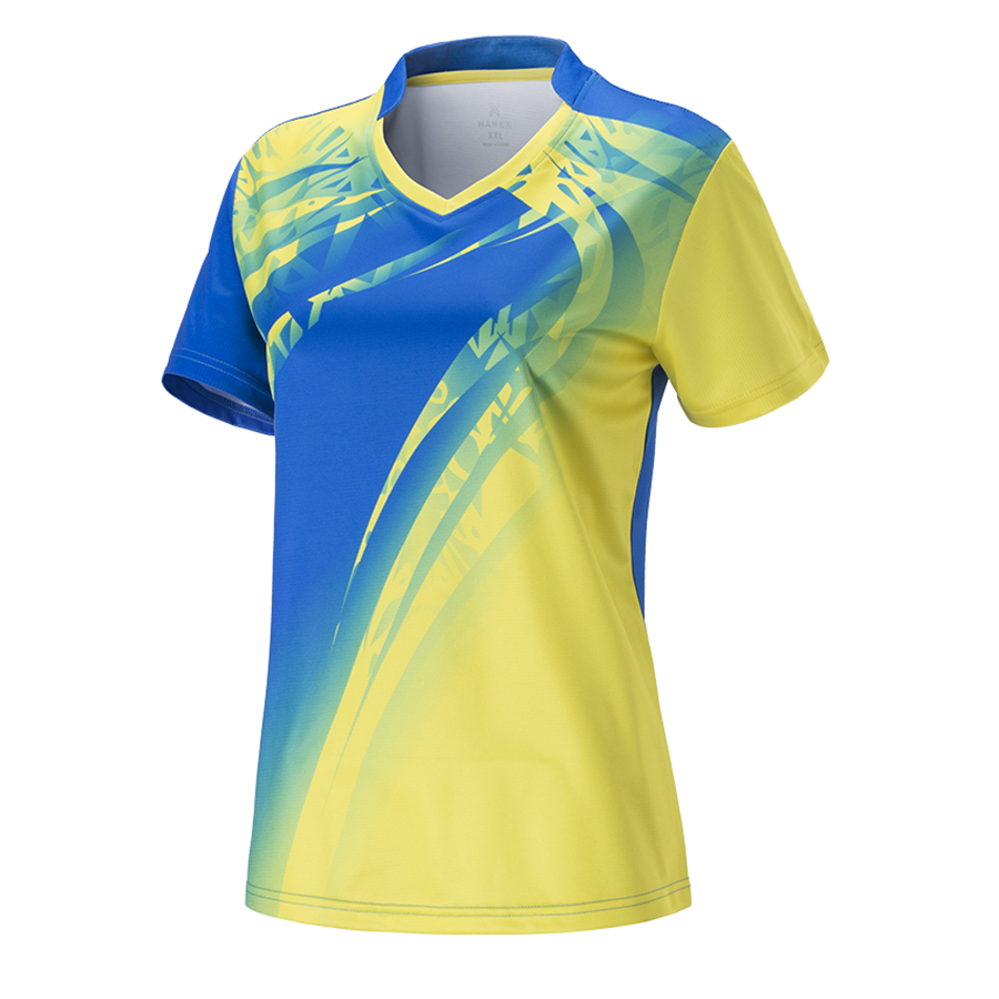Clothing Table-Tennis T-Shirt Badminton-Jerseys Ping-Pong Short Women Female Sports Breathable