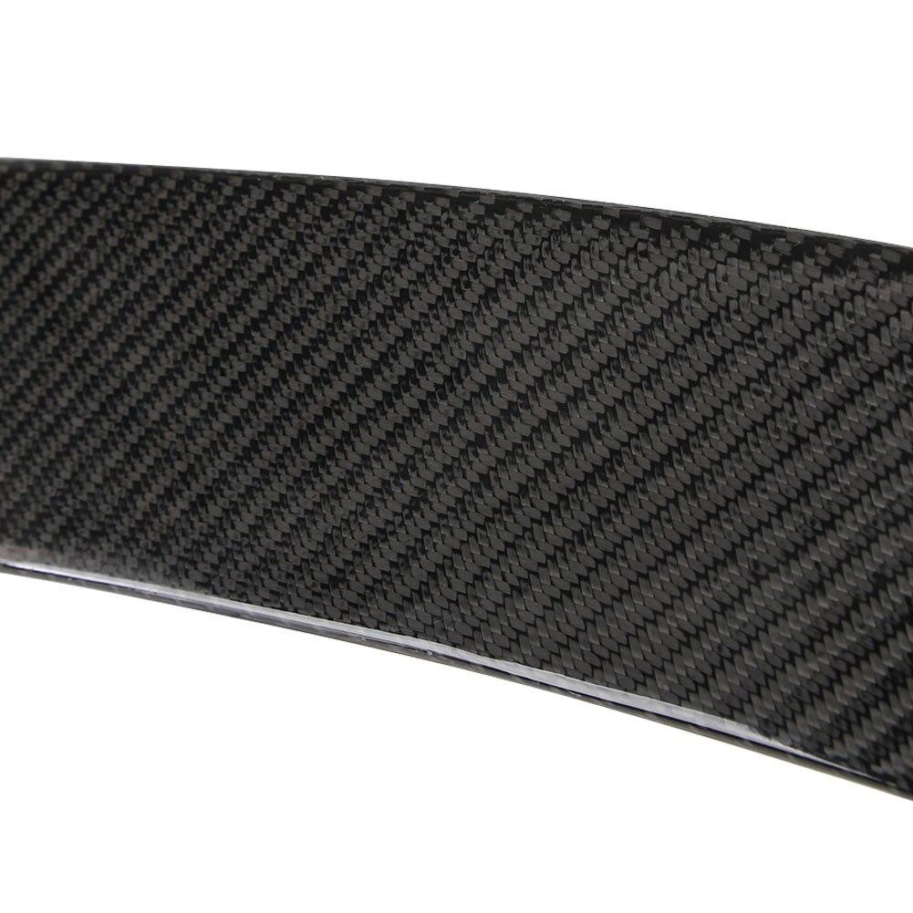 Автомобильный спойлер 4-дверный черный крыло спойлера автомобиля украшения ствол заднее крыло багажника для Cadillac ATS седан