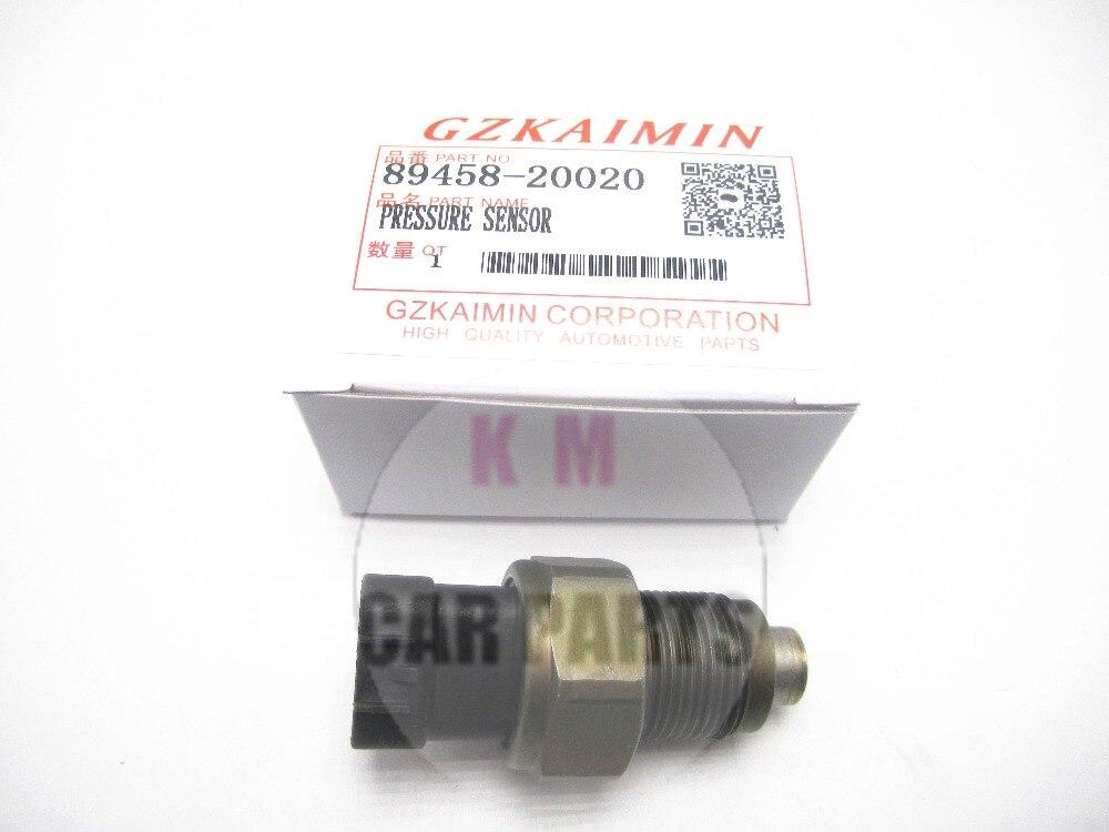 Capteur de pression de carburant de Rail de pièces d'auto OEM 89458-20020 capteur de pression adapté pour TOYOTA Avensis D4D T22