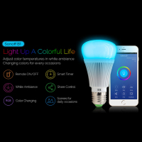Sonoff B1 Led Bulb Dimmer Smart Wifi Light Bulbs RGB Color Light Timer Bulb Remote For