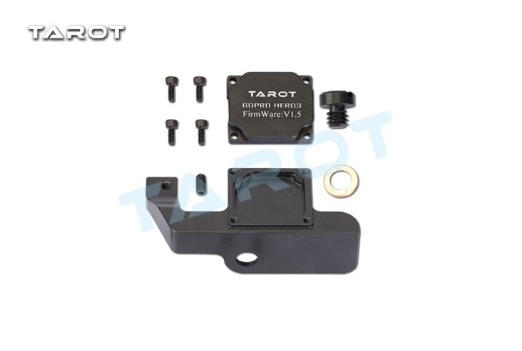 Tarot Gopro 2-Axis Brushless Gimbal Modified Parts Covert Accessory TL68A00  for Xiaomi Yi Sports Camera TL68A14 F16169 8 l min electric diaphragm 12v dc mini air pump brush