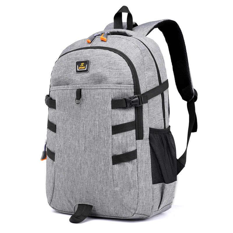 Oxford waterproof 14inches laptop backpack men backpacks for teenage girls  travel backpack bag women male school 5e36424337