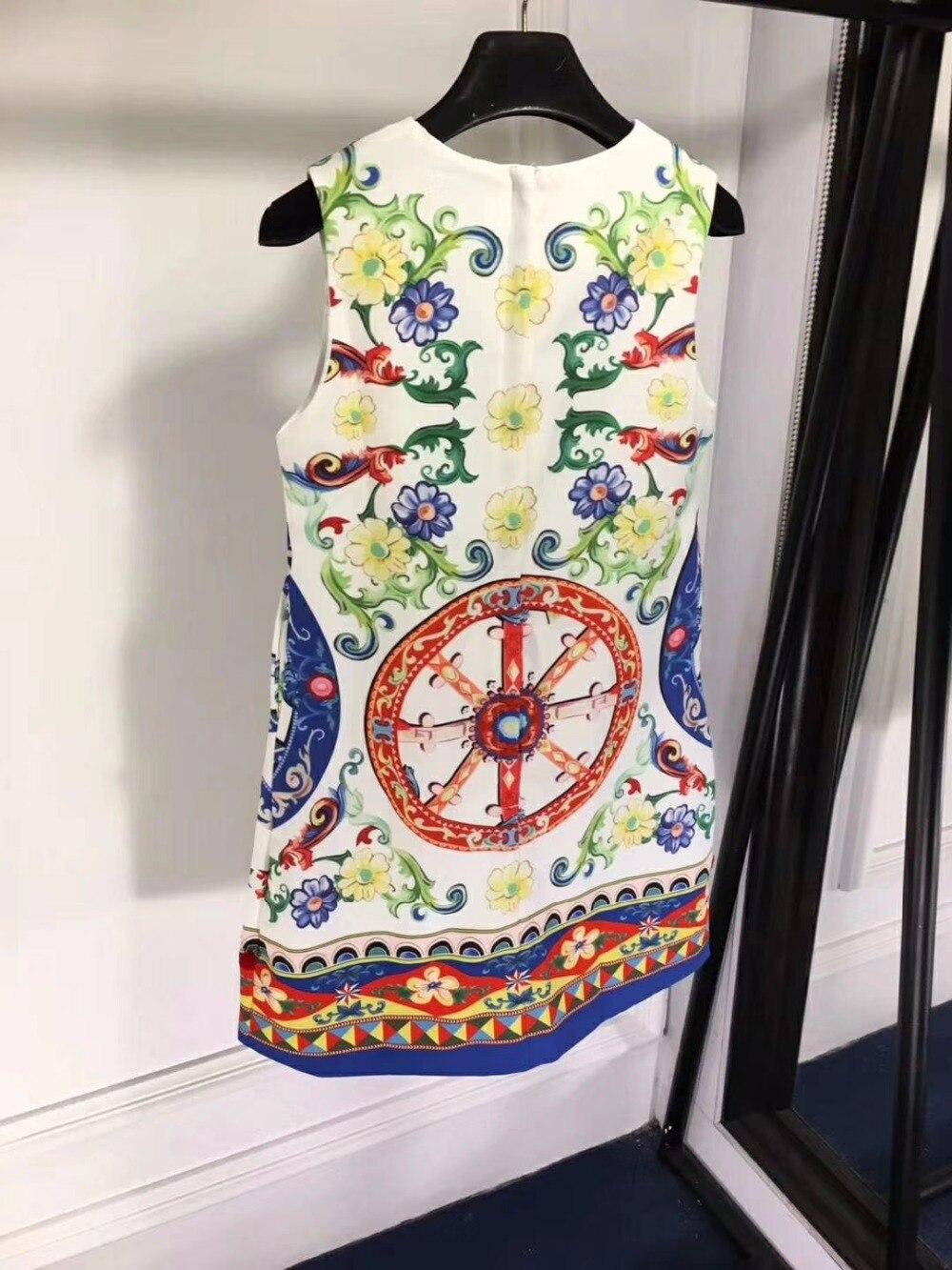 Vestidos verano 2018 mode poupée style décontracté floral robe mignon bureau mini robes pour femmes été vintage roupas feminina - 6