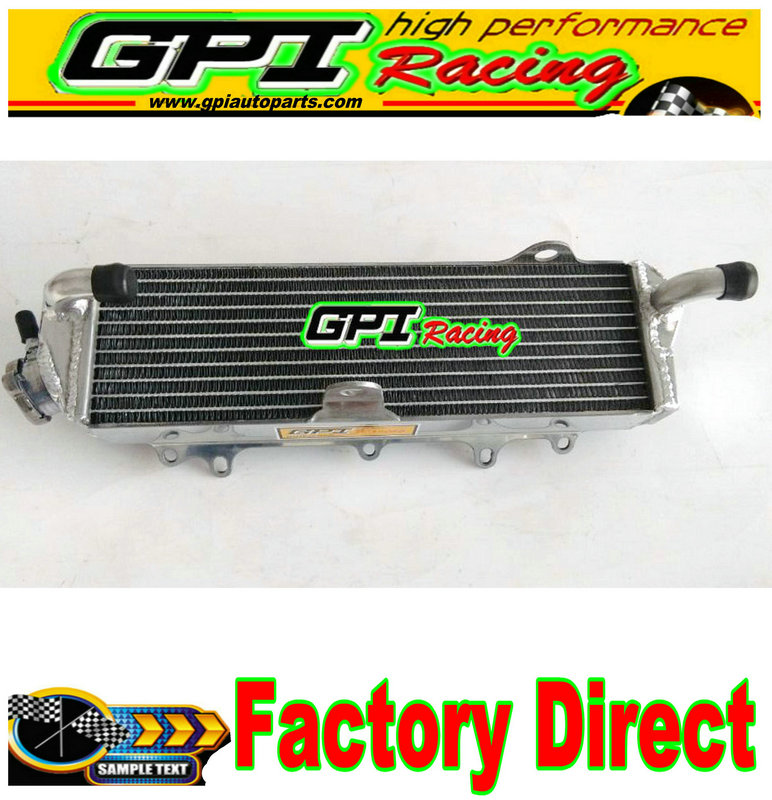GPI Aluminum radiator FOR Kawasaki KX125 KX 125 1987 1988 1989 87 88 89