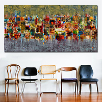 1 Piece Abstract Art Canvas Poster and Print I Painting On The Wall Modern Wall Pictures For Living Room Art Unframed