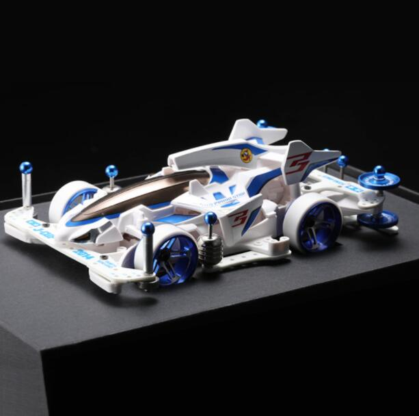 MA Chassis Mini 4WD Car Model 18641 SHOOTING PROUD STAR with Upgrade Parts Kit for Tamiya
