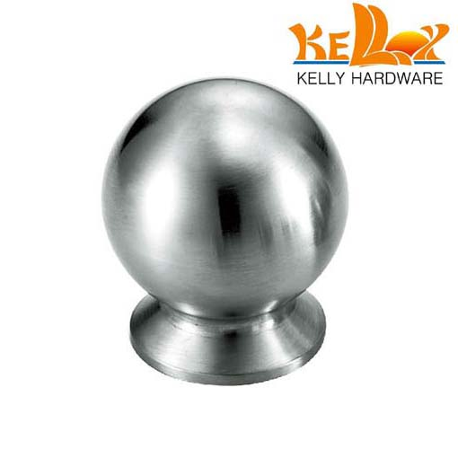 stainless steel round door knob cabinet knobs and handles dia ...