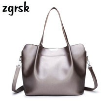 Ladies Female Handbags Korean Style Large  Leather Women Purses And Pink Vintage Bags Sac Main Femme