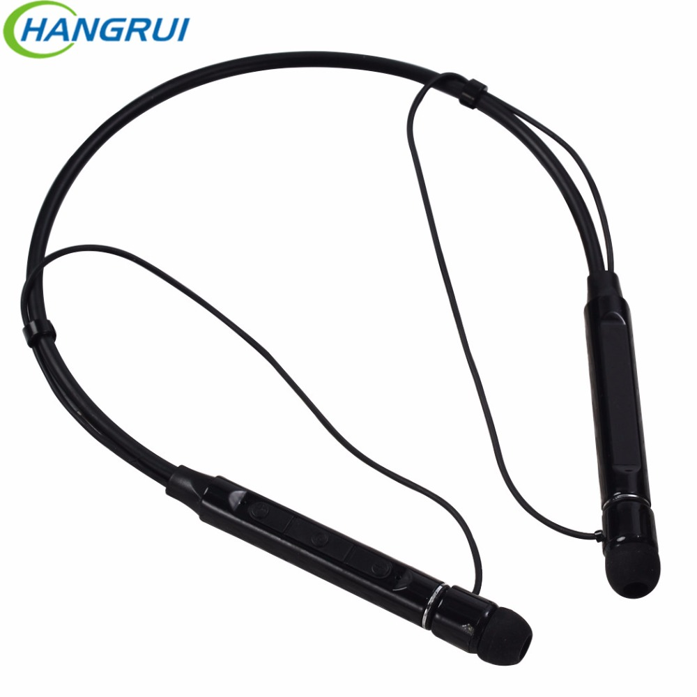 HANGRUI Wireless Bluetooth Headphones Sweatproof Sport Earphone Neckband Stereo bluetooth earbuds headset for mobile phone mp3 hbs 760 bluetooth 4 0 headset headphone wireless stereo hifi handsfree neckband sweatproof sport earphone earbuds for call music