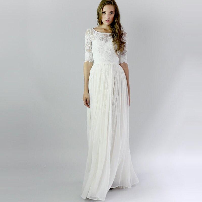 Popular beach weddingdress buy cheap beach weddingdress for Country western wedding dresses