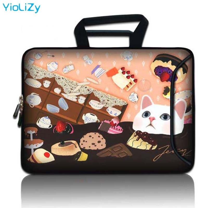 Laptop maleta Saco com Bolsa de bolso 9.7 12 13.3 14 15.6 17.3 polegada tablet estojo protetor manga Notebook capa SBP-23597