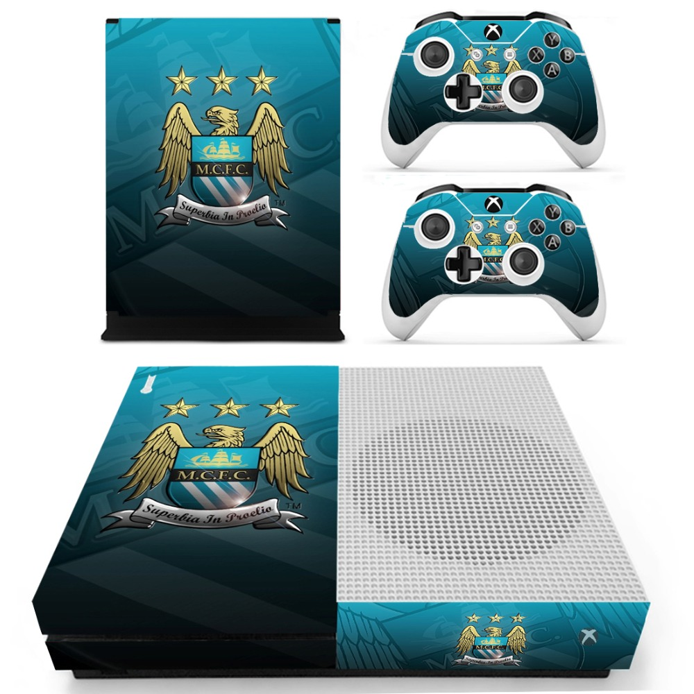 Football Club #3 For Xbox One S Sticker Vinly Skin Sticker for  Xbox One S and 2 controller skins Stickers