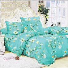 235cm 50cm piece 100 cotton green flower printed cotton fabric for font b Baby b font