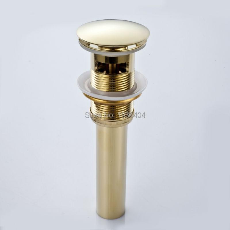 "Plumbing Lot 10 Pcs Universal Fit 1-1//4/"" Chrome PopUp Lift//Lock Brass Drain 20GA"