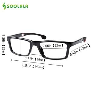 Image 5 - SOOLALA Anti Blue Light Reading Glasses Women Men Blue Light Blocking Computer Glasses Presbyopia Eyewear For Readers Dioper