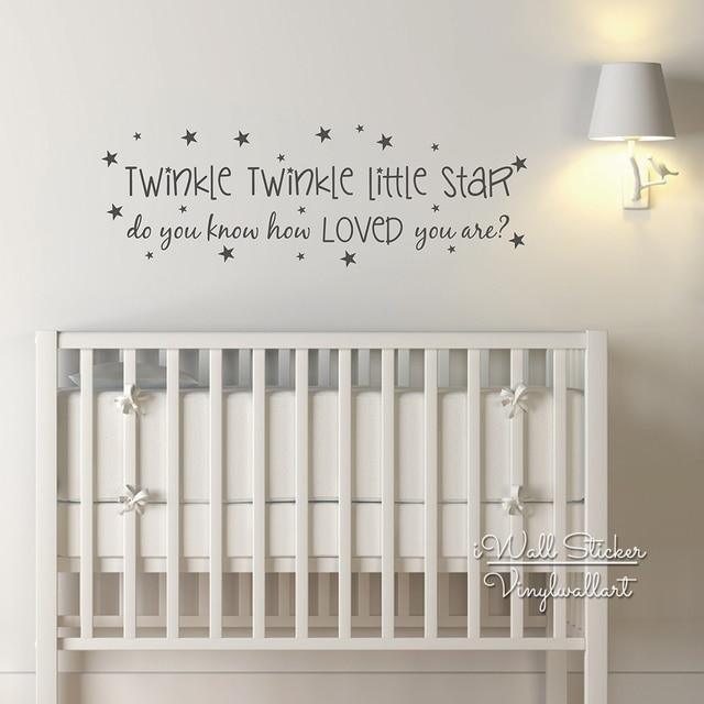 Aliexpress.com : Buy Baby Nursery Quote Wall Sticker ...