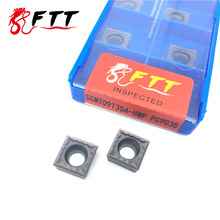 SCMT09T304 HMP PC9030 herramientas de torneado exterior inserto de carburo herramienta de corte de torno de alta calidad Tokarnyy inserto de torneado