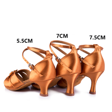 profession Sports Dance shoes Women Rhinestone handmade  BD 258  Ballroom latin dance shoes Ballroom  Girl Student shoes 7cm Hot