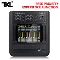 TKL M16.8 Professional audio digital mixer Ipad 16 channel USB WIFI DJ Sound Mixing For Karaoke KTV Match Party