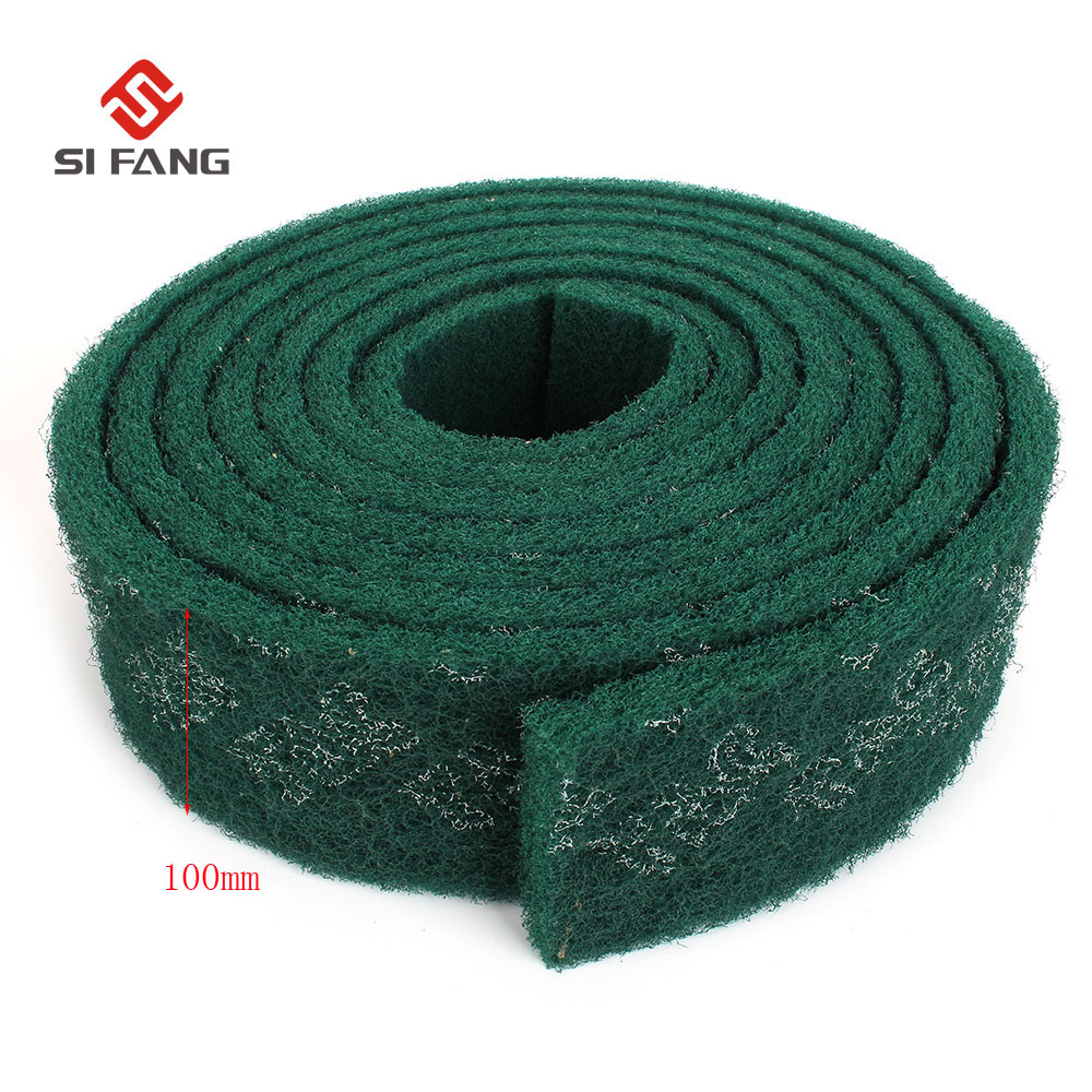 Rust Removal Cloth Strong Decontamination Cleaning Wipe Decontamination Scouring Pad Rust Cloth Emery Scouring Pad