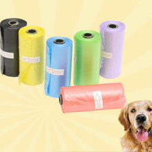 3 Roll 45 Trash Bags Multiple colors Pet Dog Biodegradable Garbage Dogs Bag on Board garbage Supplies