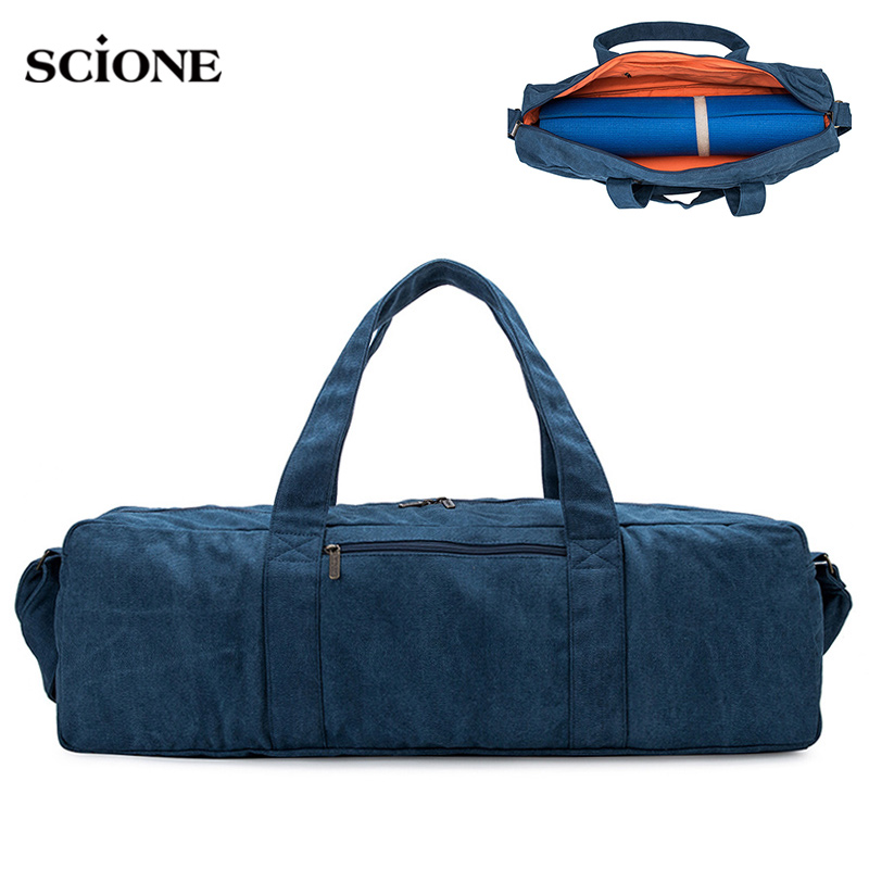 Yoga Mat Gym Bags Sport Bag For Men Women Fitness Training Sports Tas Shouder Sac De Sporttas Gymtas Canvas Bolsa Woman XA24WA