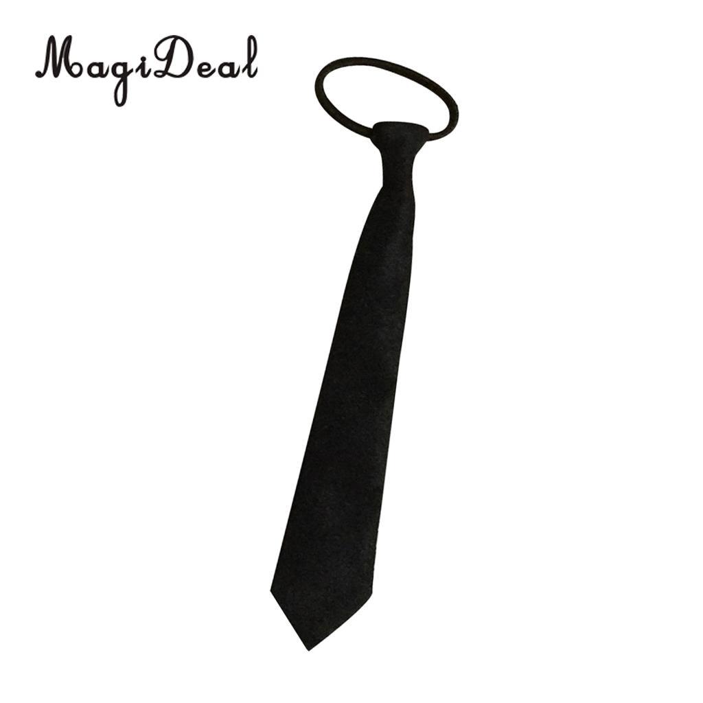 1//6 Female Black Tie Necktie for 12 inch Action Figure Clothes Accessories