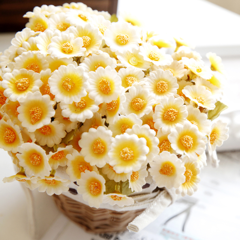 Fresh Silk Sunflower Artificial Daisy Flower Gerbera Daisy Bouquet Home  Decor Craft For Party Decoration In Artificial U0026 Dried Flowers From Home U0026  Garden On ...