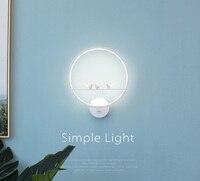 Phube Lighting Modern LED Wall Lamp Light Lovely Angel Violin Wall Sconce Lighting Free Shipping